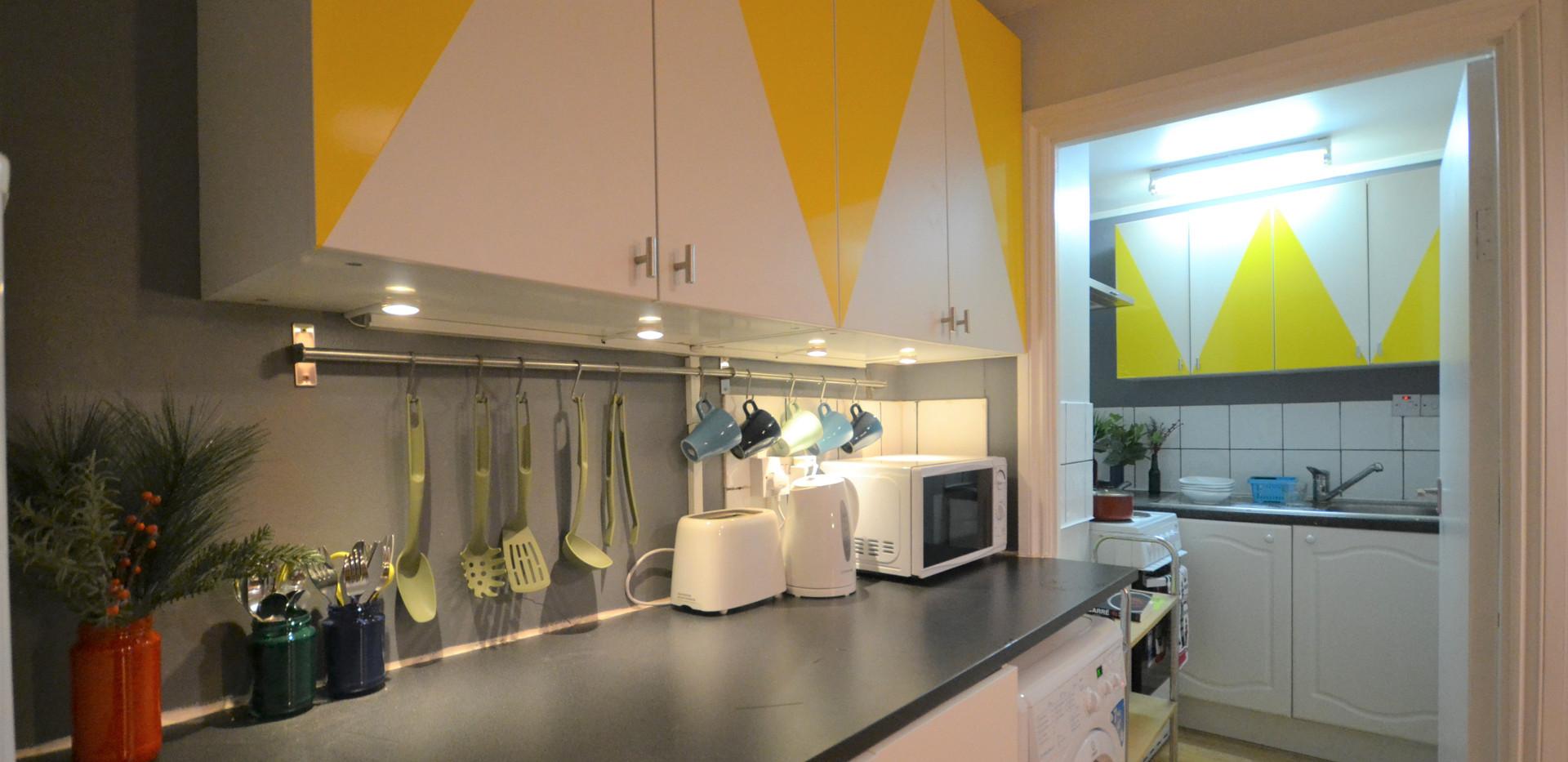 Shared Dinning & Kitchen Area