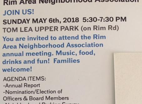 RANA annual meeting