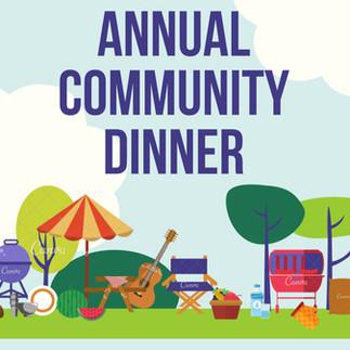 Rim Area Neighborhood Community Dinner on us!