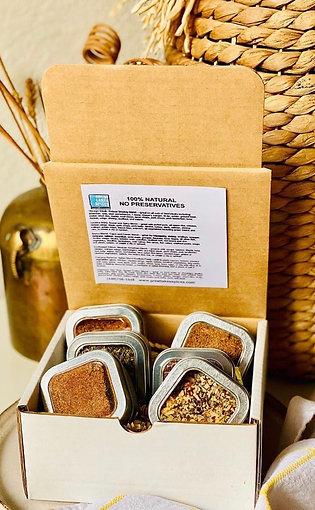 Gift Box/Sampler of 6 Seasonings