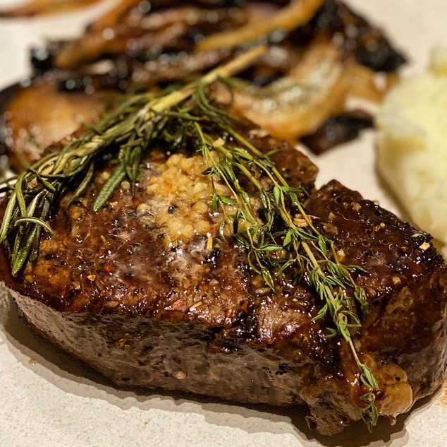 Skillet seared and oven roasted beef tenderloin