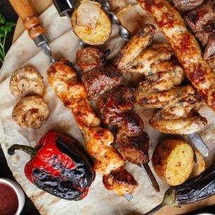 Chicken & Steak Shish Kabob