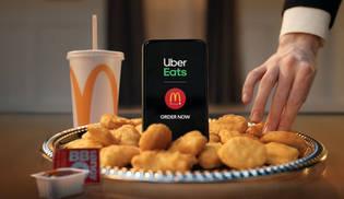 McDonalds UberEats Award Season 2020