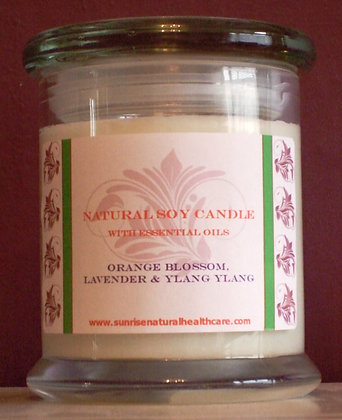 Natural Candles with Essential Oils