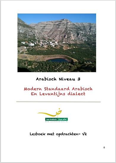 Arabisch Niveau 3- Grammatica en Spreken, MSA en Levantijns Arabisch