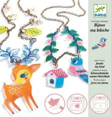 Djeco- 'Magisch Plastic' Sieraden Maken
