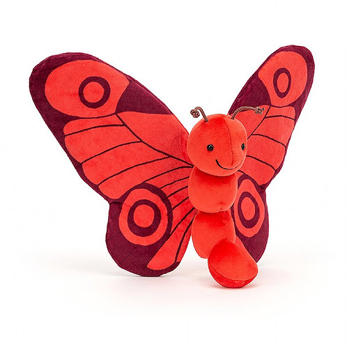 Jellycat- breezy butterfly poppy