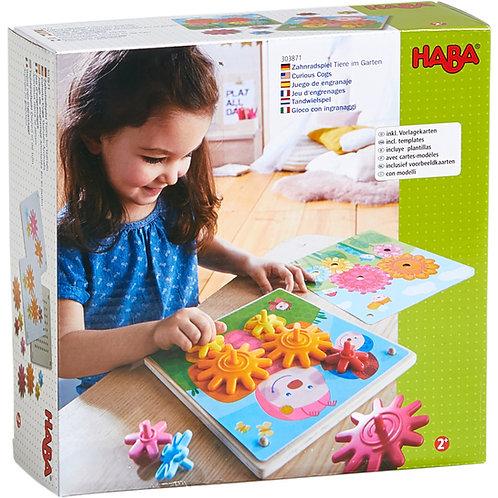 HABA-Tandwielspel Dieren in de tuin
