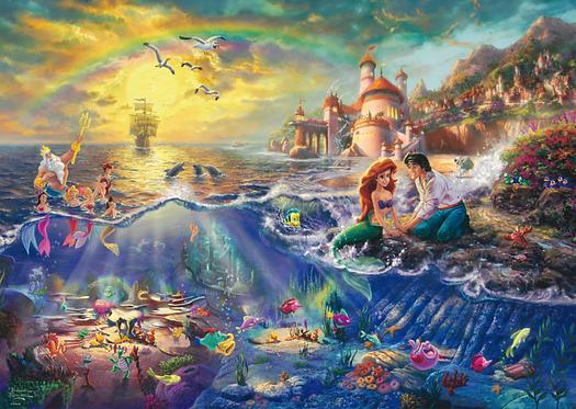 Schmidt puzzel- Ariël de kleine zeemeermin