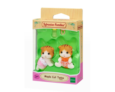 Sylvanian Families-Maple Cat Twins