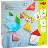 HABA-Legspel Kleurrijke Tangrammix