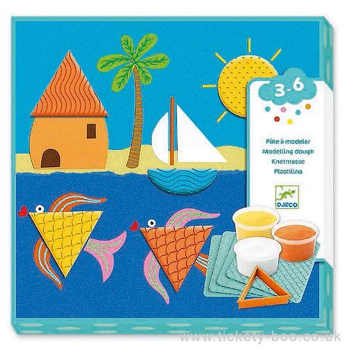 Djeco- kinderklei, patroonplaten en vormen