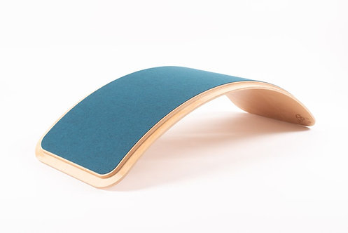 We Rock balanceerbord classic stepped-petroleum blauw
