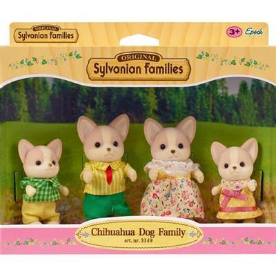 Sylvanian Families-Chihuahua Dog Family