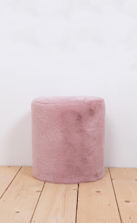 """Wild and soft pouffe """"dusk rose"""""""