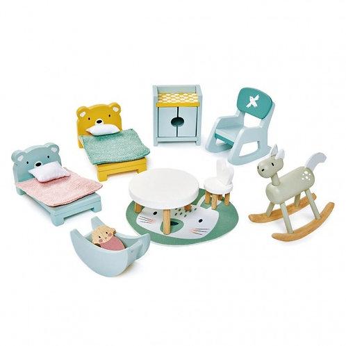 Tender Leaf Toys-Poppenhuis kinderkamer