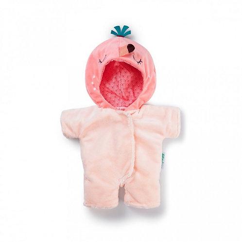 Lilliputiens-poppen onesie flamingo