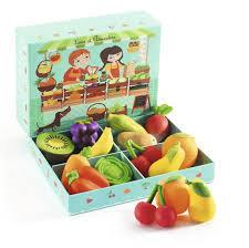Djeco- Louis en Clémentine: Fruit en Groenten