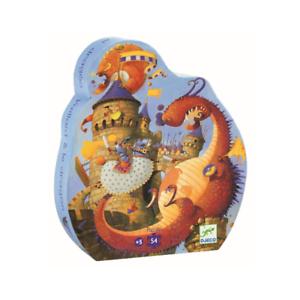 Djeco- Drakenpuzzel 54 stuks