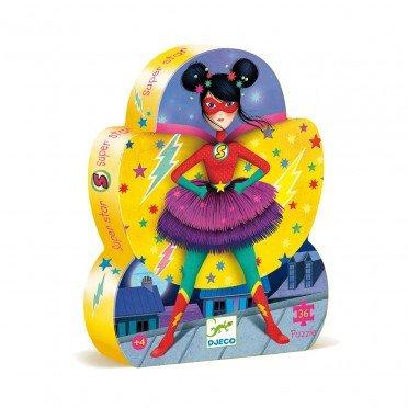 Djeco- Puzzel Superster 36 stuks