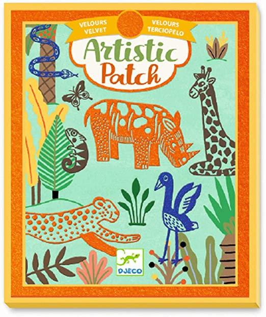 Djeco - Artistic patch DIY velours