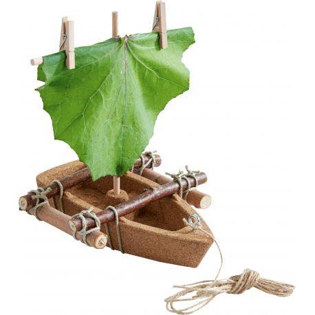 Terra kids-bouwpakket boot in kurk