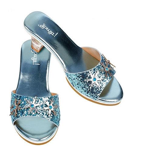 Souza for kids-slippers ijskoningin blauw
