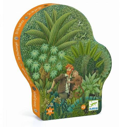 Djeco-puzzel 54stuks in de jungle
