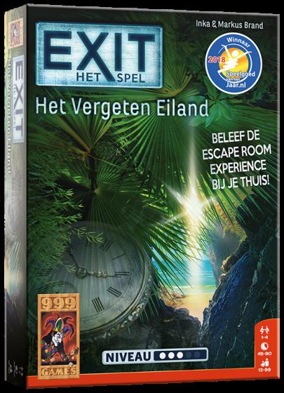 999Games- EXIT/Het vergeten eiland