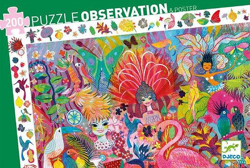Djeco- Puzzel Carnaval Rio