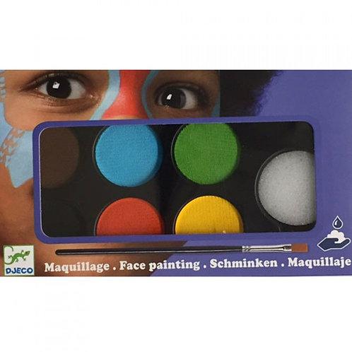 Djeco - Schminken (6 kleuren)
