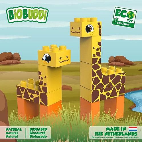 BiOBUDDi blokken -  Steppe Giraf