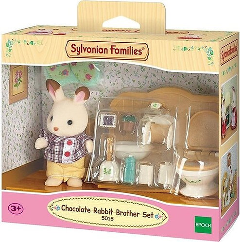 Sylvanian Families-Chocolate Rabbit Brother Set