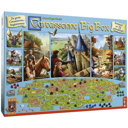999 Games- Carcassonne big box