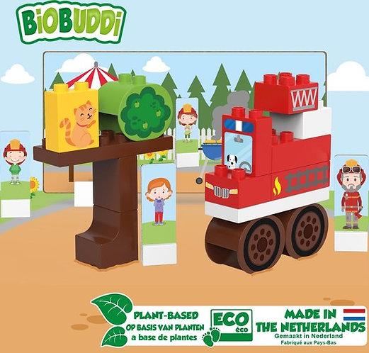 BiOBUDDi blokken - Brandweerwagen