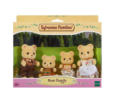 Sylvanian Families-Bear Family