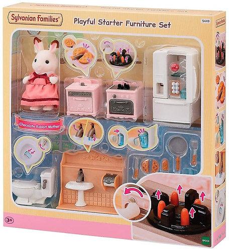 Sylvanian Families-Playful Starter Furniture Set