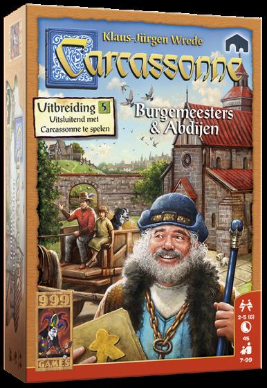 999Games-Carcassonne: Burgemeesters & abdijen