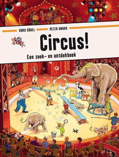 Circus een zoek en ontdekboek