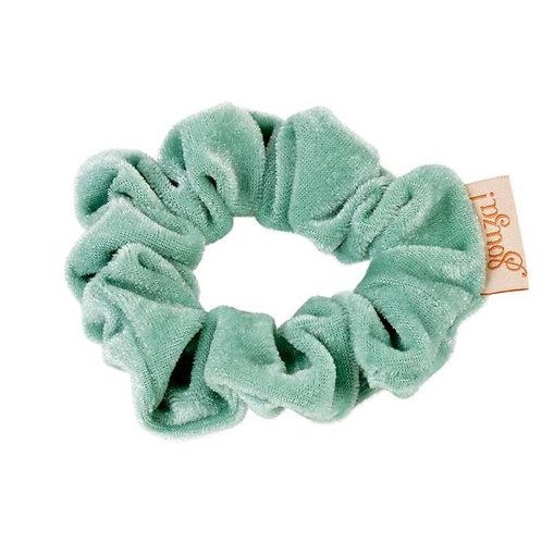 Souza- Scrunchie fluweel (groen)