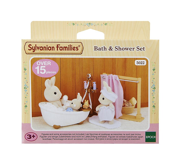 Sylvanian Families-Bath and Shower Set