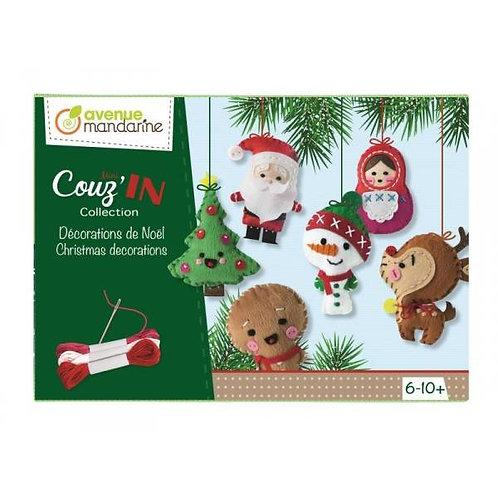 Avenue Mandarine - Vilten kerstfiguurtjes maken
