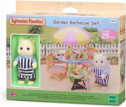 Sylvanian Families-Garden Barbecue set
