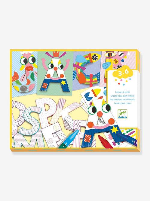 Djeco -Letters knutselen
