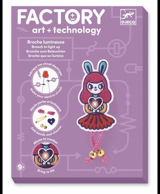 Djeco - Kunst en technologie bunny girl broche