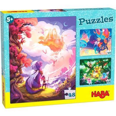 "Haba-puzzel ""fantasyland"""