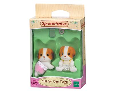 Sylvanian Families-Chiffon Dog Twins