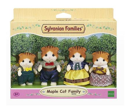 Sylvanian Families-Maple Cat Family
