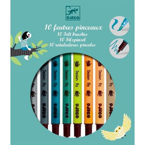 Djeco - Verfstiften: herfstkleuren