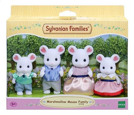 Sylvanian Families-Marshmallow muis familie